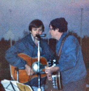 Ron and Randy Lake Norman