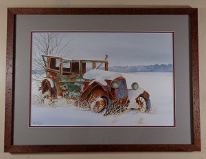 Out to Pasture Framed1